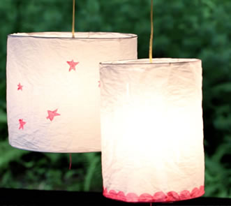Heather ross paper lantern kit lamp shop keyboard keysfo Image collections