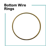 Lampshade wire rings lamp shop bottom wire lampshade rings greentooth Choice Image