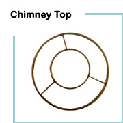 Lampshade wire rings lamp shop chimney top lampshade rings greentooth Image collections