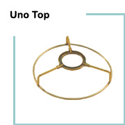Lampshade wire rings lamp shop chimney top lampshade rings uno top lampshade rings greentooth Choice Image