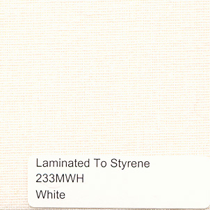 White Muslin On Styrene By The Yd Lamp Shop