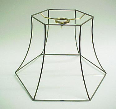 Hex Bell Frame Uno 7x12x8 1/2: Lamp Shop