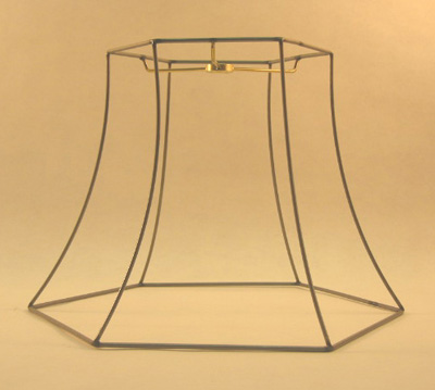 Hex bell frame washer top 5x10x7 12 lamp shop greentooth Gallery