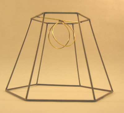 Hex frame clip 4x8x6 lamp shop hex frame clip 4x8x6 quantity in basket none code r121c8f price1113 hexagon lampshade frame w clip top fitter wire 4x8x6 greentooth Gallery
