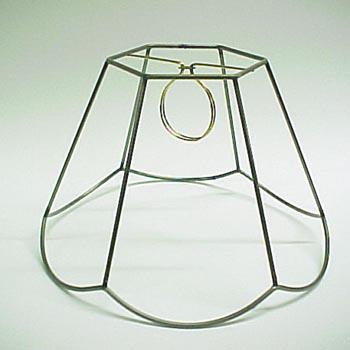 Hex Scallop Frame Clip 5x10x7: Lamp Shop