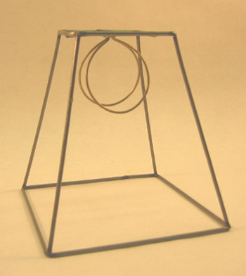 Square frame clip 4x7x7 lamp shop square frame clip 4x7x7 quantity in basket none code r172c10 price1113 square lampshade frame w 12 reccess clip top fitter wire 4x7x7 frame greentooth Choice Image