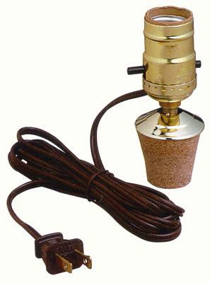 1 1 4 Cork Jug Or Bottle Kit Lamp Shop