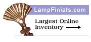 lamp finial